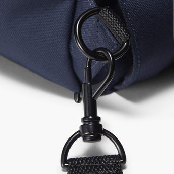 Clasp Detail - Edgemont - 600D Recycled Poly - Navy - Backpack - Lo & Sons