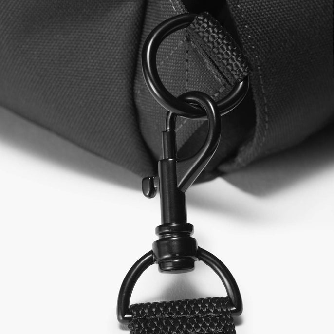 Clasp Detail - Edgemont - 600D Recycled Poly - Onyx - Backpack - Lo & Sons