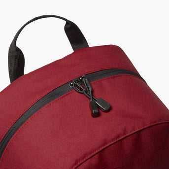 Cross Zips - The Hanover - 600D Recycled Poly - Crimson Red - Backpack - Lo & Sons