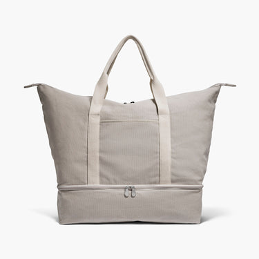 Front - The Catalina - Washed Canvas - Dove Grey - Weekender - Lo & Sons