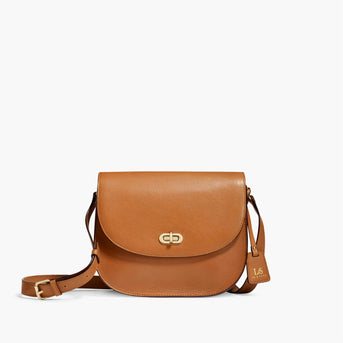 88115575b4a4b Stylish Leather Camera Bag for Women - The Claremont – Lo & Sons