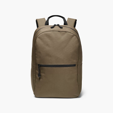 Front - The Hanover - 600D Recycled Poly - Army Green - Backpack - Lo & Sons