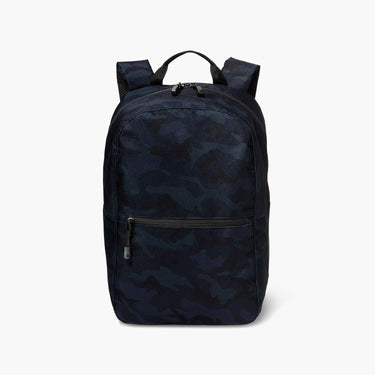 Front - The Hanover - 600D Recycled Poly - Navy Camo - Backpack - Lo & Sons