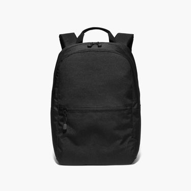 Front - The Hanover - 600D Recycled Poly - Onyx - Backpack - Lo & Sons