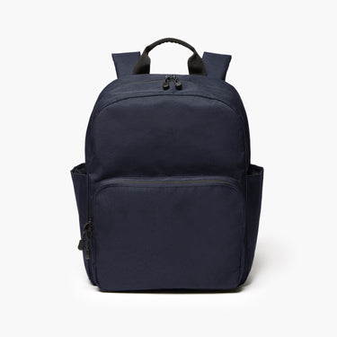 Front - The Hanover Deluxe - 600D Recycled Poly - Navy - Backpack - Lo & Sons