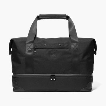 Front - The Rhodes - 600D Recycled Poly - Onyx - Weekender - Lo & Sons