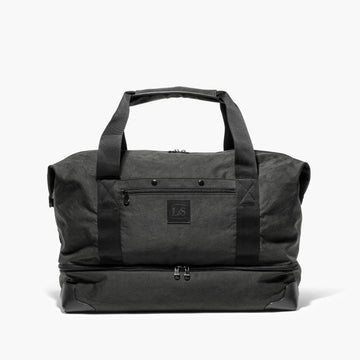 Front Sides Snapped - The Rhodes - Waxed Twill - Charcoal - Weekender - Lo & Sons