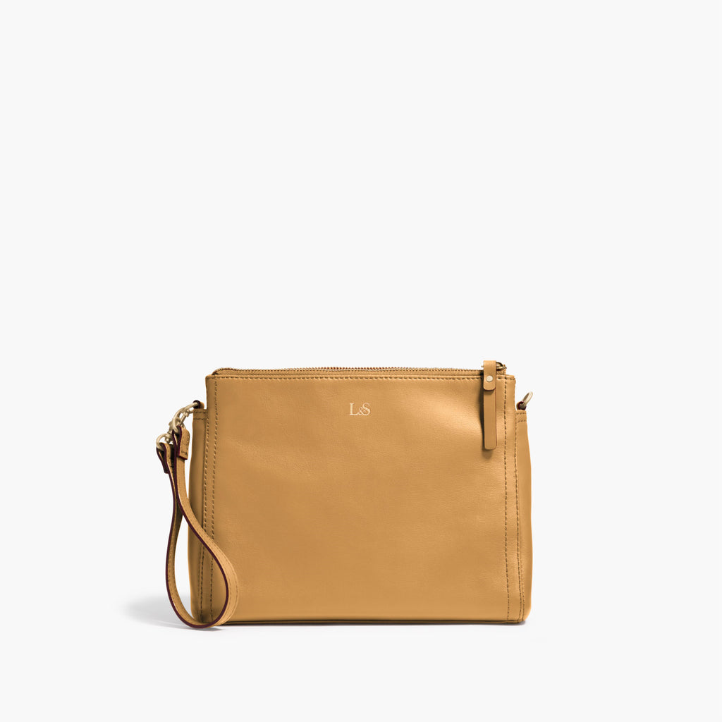 6d3bef29d Leather Travel Crossbody or Clutch Bag - The Pearl – Lo & Sons