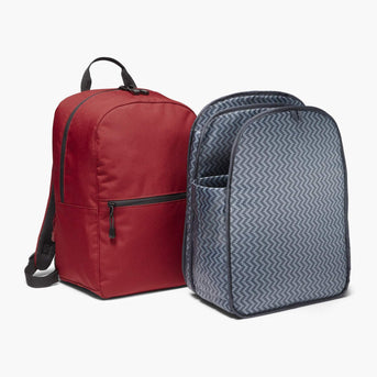Insert And Exterior - The Hanover - 600D Recycled Poly - Crimson Red - Backpack - Lo & Sons