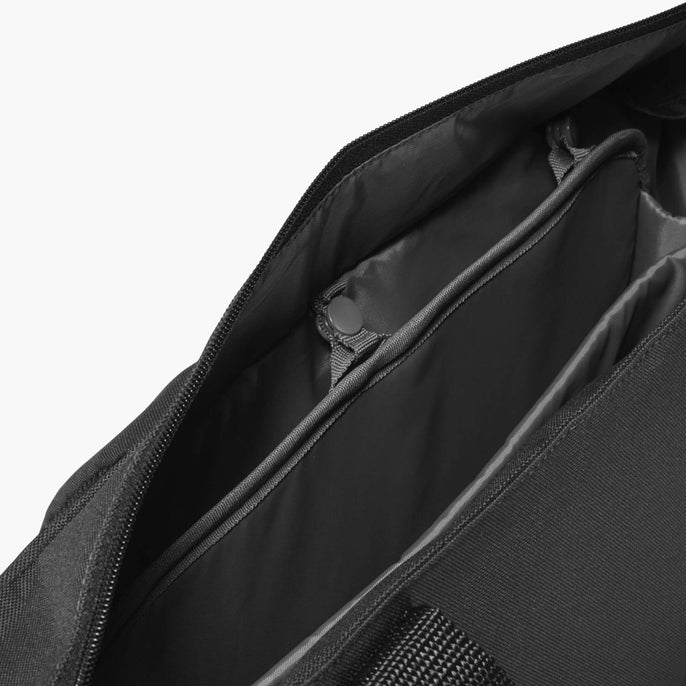 Insert Buttons - Edgemont - 600D Recycled Poly - Onyx - Backpack - Lo & Sons
