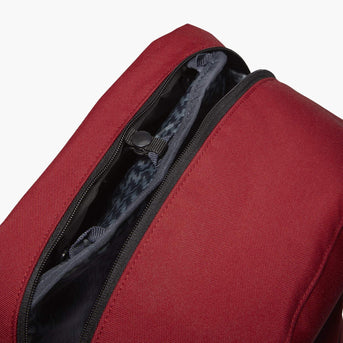 Insert Clip - The Hanover - 600D Recycled Poly - Crimson Red - Backpack - Lo & Sons