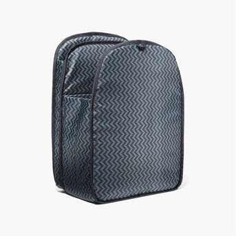 Insert Side - The Hanover - Ripstop Recycled Poly - Black - Backpack - Lo & Sons