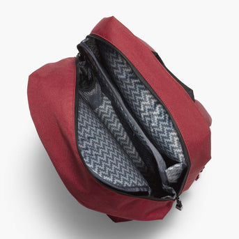 Interior Empty - The Hanover - 600D Recycled Poly - Crimson Red - Backpack - Lo & Sons