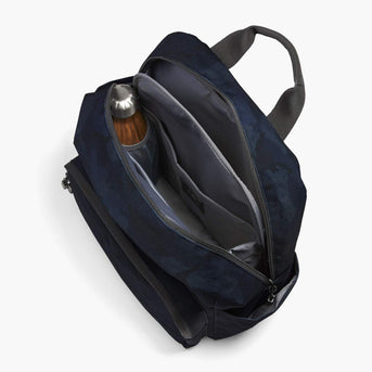 Interior Empty - The Hanover Deluxe - 600D Recycled Poly - Navy Camo - Backpack - Lo & Sons