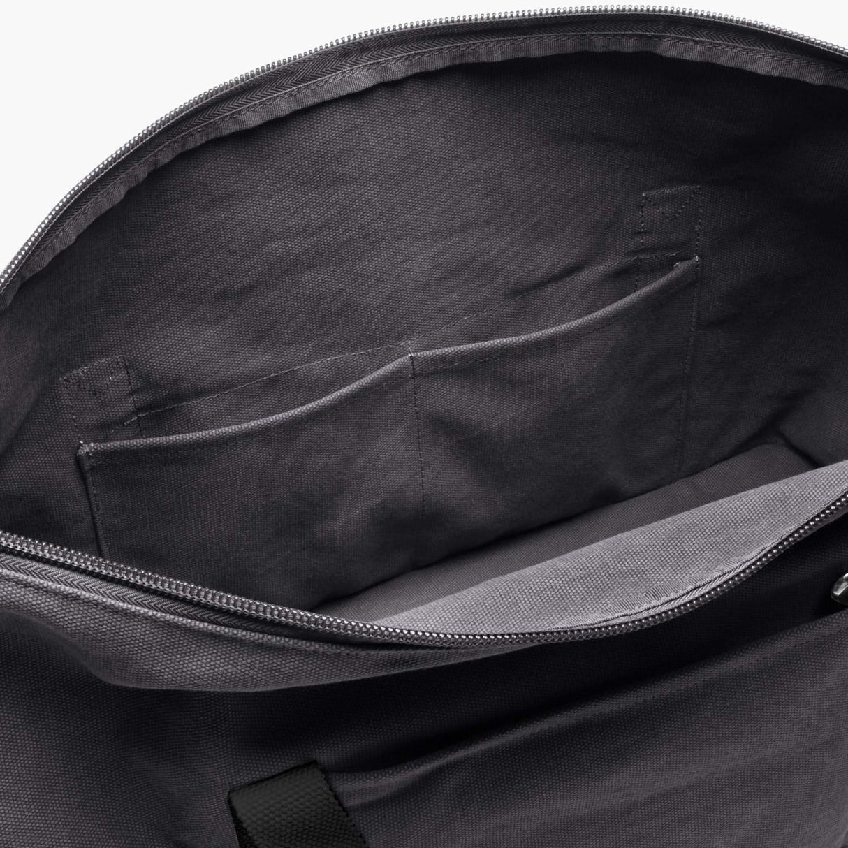 Interior Pockets - The Catalina Deluxe - Washed Canvas - Midnight Ash - Weekender - Lo & Sons