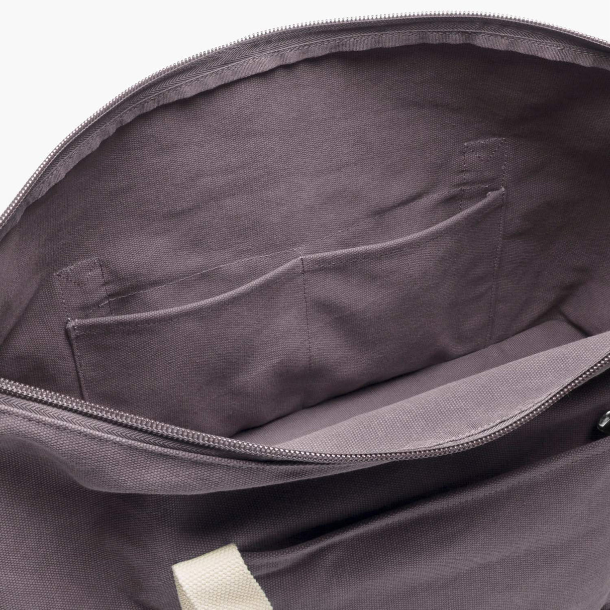 Interior Pockets - The Catalina Deluxe - Washed Canvas - Thistle - Weekender - Lo & Sons