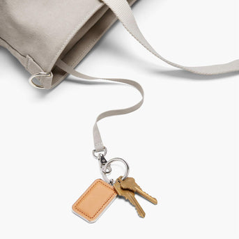 Key Leash - The Catalina Deluxe Tote - Washed Canvas - Dove Grey - Tote - Lo & Sons