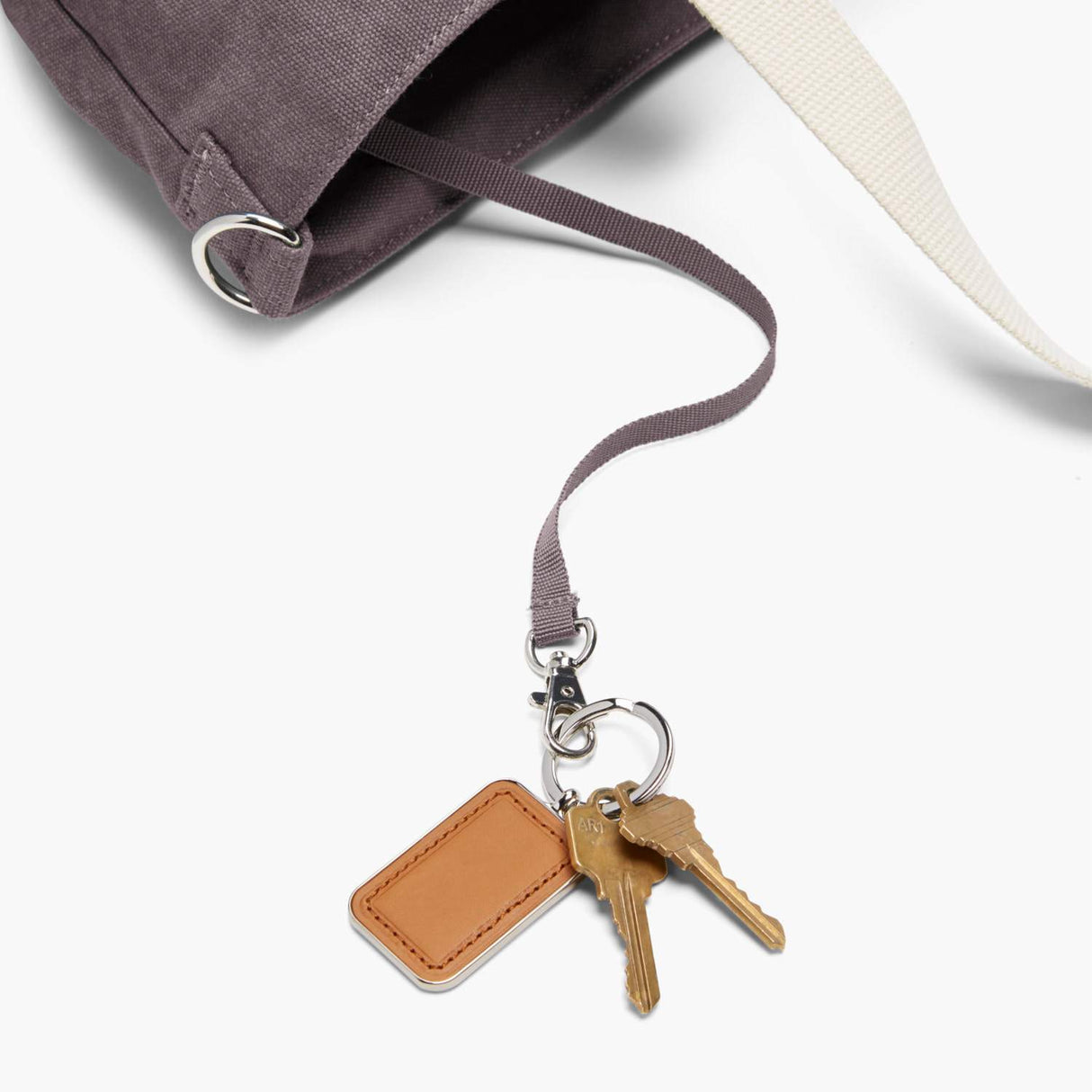 Key Leash - The Catalina Deluxe Tote - Washed Canvas - Thistle - Tote - Lo & Sons