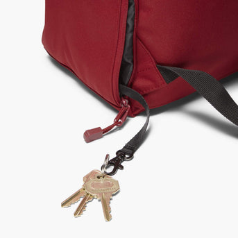 Key Leash - The Hanover - 600D Recycled Poly - Crimson Red - Backpack - Lo & Sons