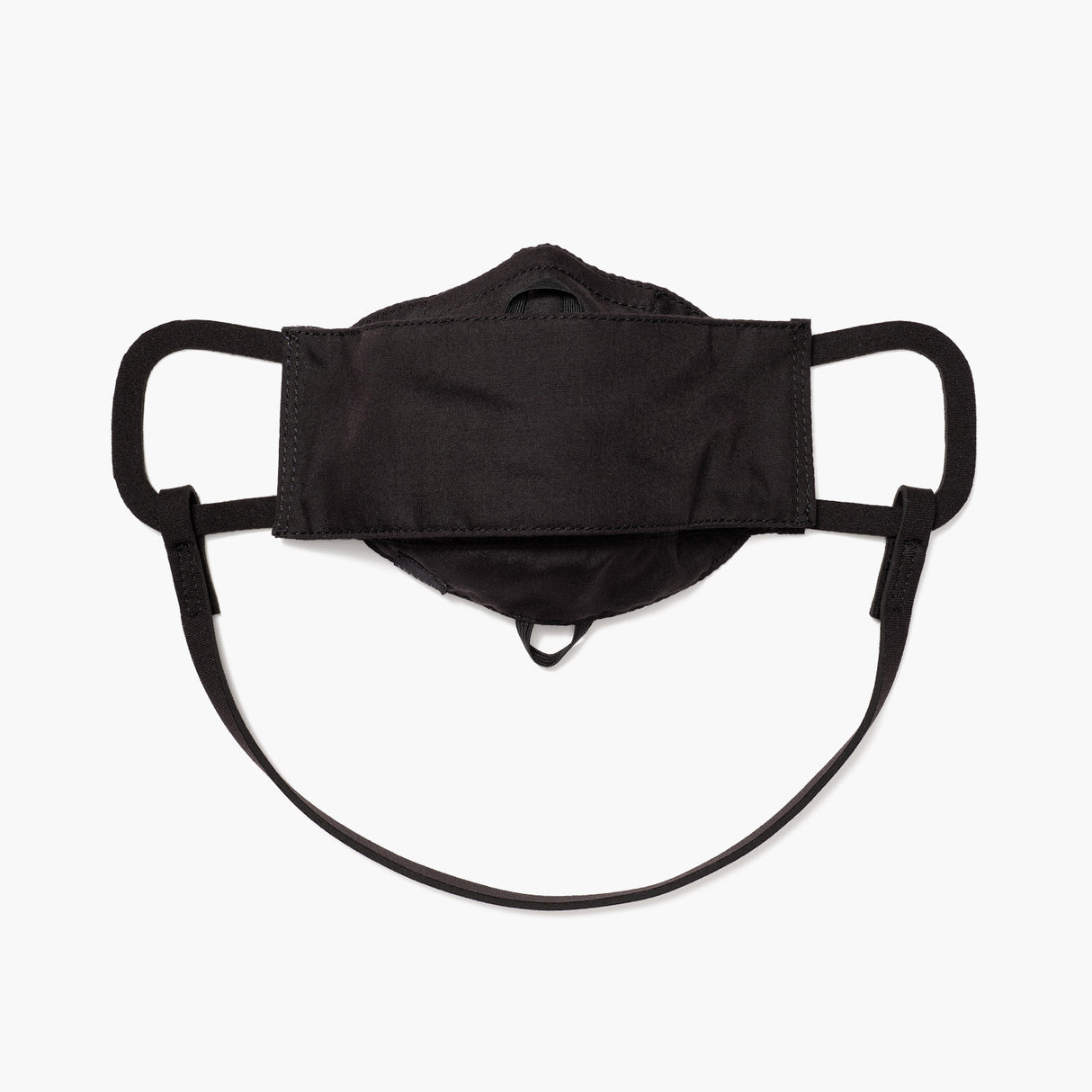 Front - All Day Comfort Face Mask - Cotton Poly - Black  - Small Accessory - Lo & Sons