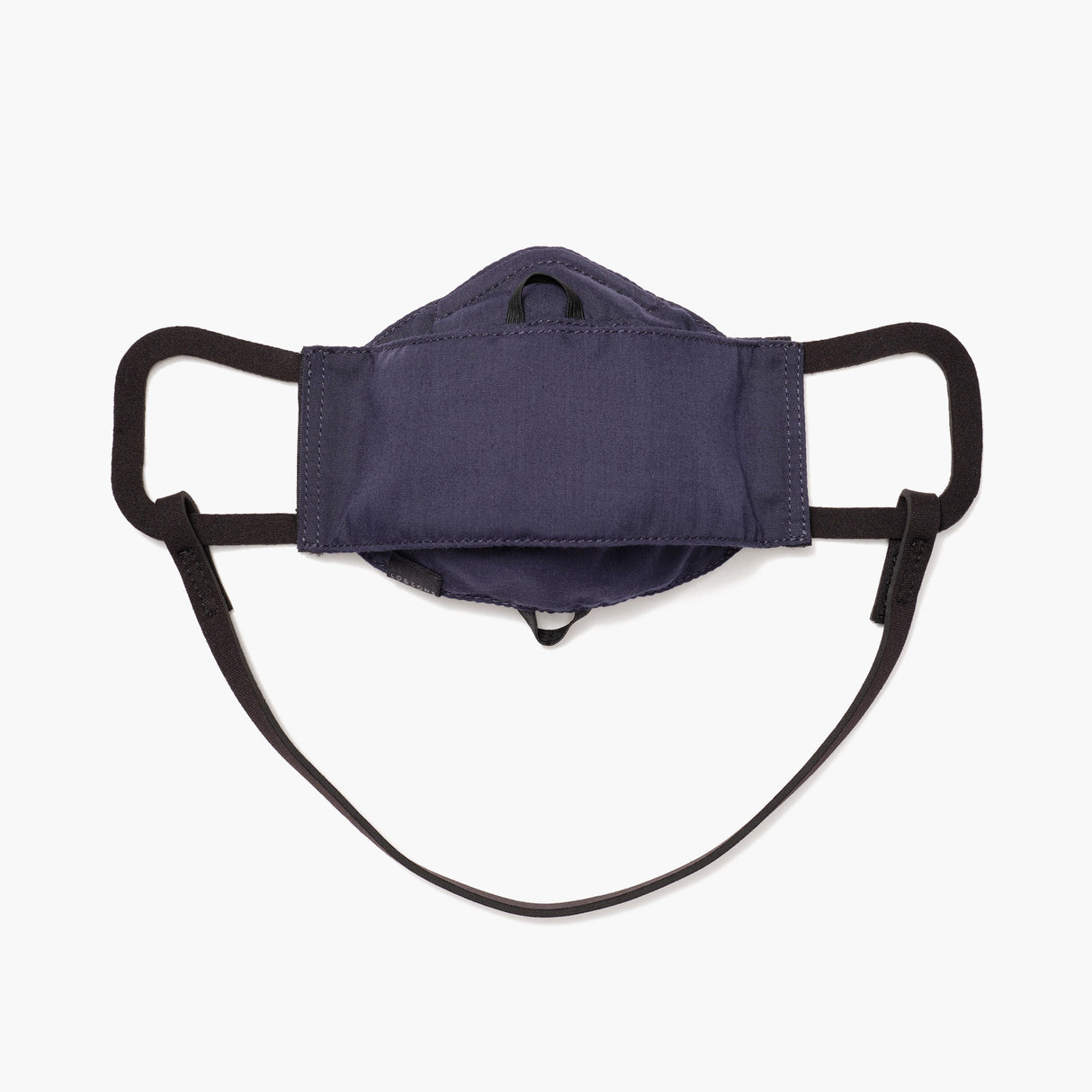 Front - All Day Comfort Face Mask - Cotton Poly - Deep Navy  - Small Accessory - Lo & Sons