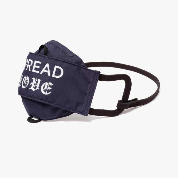 Side - All Day Comfort Face Mask - Cotton Poly - Deep Navy - Spread Love - Small Accessory - Lo & Sons