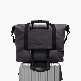 Luggage Sleeve - The Catalina Deluxe - Washed Canvas - Midnight Ash - Weekender - Lo & Sons
