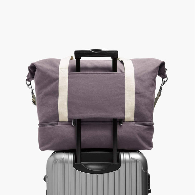 Luggage Sleeve - The Catalina Deluxe - Washed Canvas - Thistle - Weekender - Lo & Sons