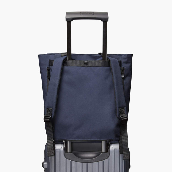 Luggage Sleeve - Edgemont - 600D Recycled Poly - Navy - Backpack - Lo & Sons