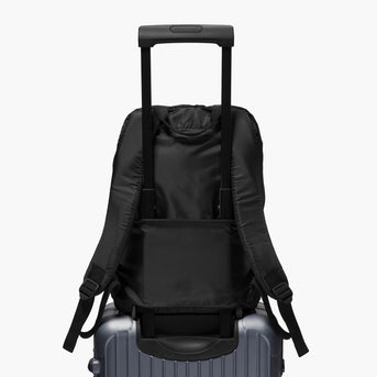 Luggage Sleeve - The Hanover - Ripstop Recycled Poly - Black - Backpack - Lo & Sons