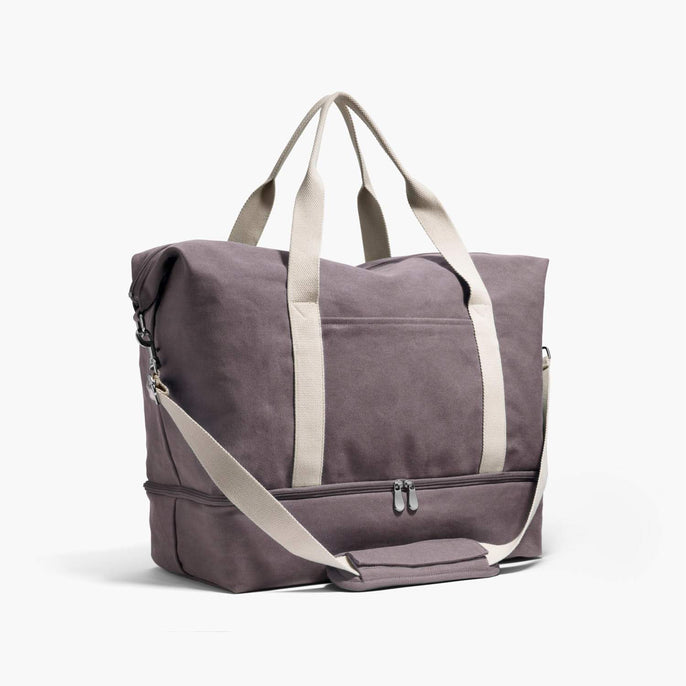Side - The Catalina Deluxe - Washed Canvas - Thistle - Weekender - Lo & Sons