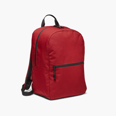 Side - The Hanover - 600D Recycled Poly - Crimson Red - Backpack - Lo & Sons