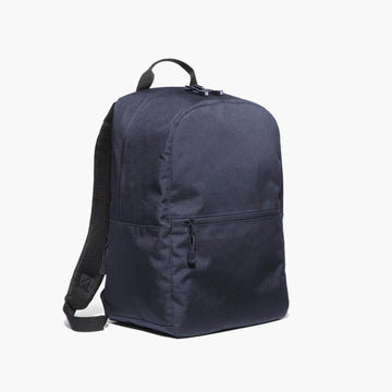 Side - The Hanover - 600D Recycled Poly - Navy - Backpack - Lo & Sons