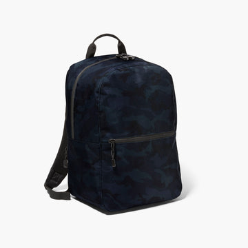 Side - The Hanover - 600D Recycled Poly - Navy Camo - Backpack - Lo & Sons