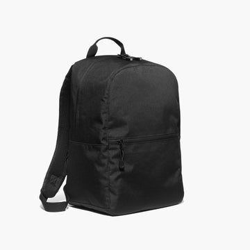 Side - The Hanover - 600D Recycled Poly - Onyx - Backpack - Lo & Sons