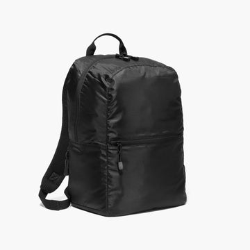 Side - The Hanover - Ripstop Recycled Poly - Black - Backpack - Lo & Sons