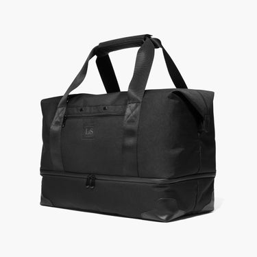 Side - The Rhodes - 600D Recycled Poly - Onyx - Weekender - Lo & Sons