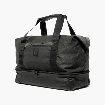 Side Snapped - The Rhodes - Waxed Twill - Charcoal - Weekender - Lo & Sons
