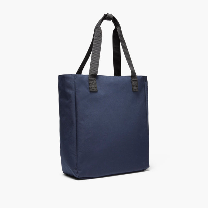 Side Tote - Edgemont - 600D Recycled Poly - Navy - Backpack - Lo & Sons