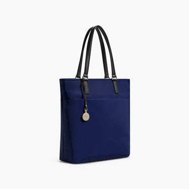 Side - The T.T. - Nylon - Navy / Gold / Lavender - Tote - Lo & Sons
