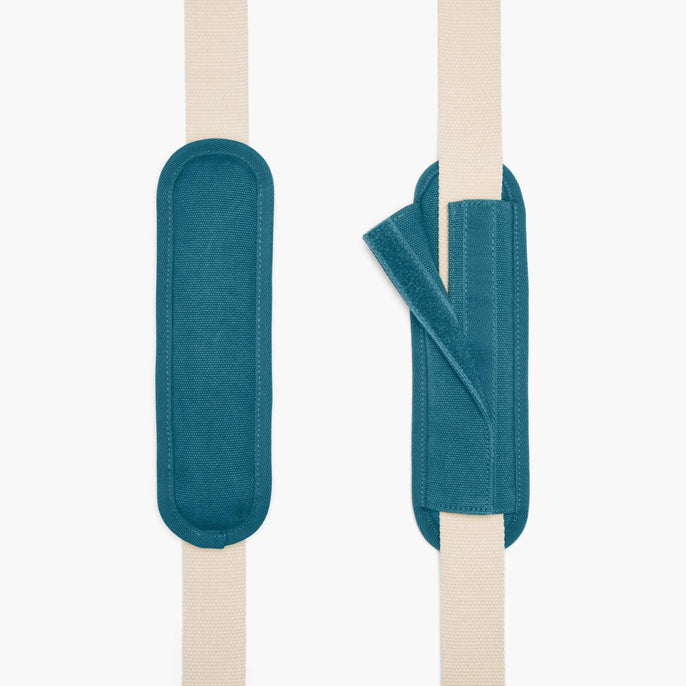 Strap - The Catalina Deluxe Tote - Washed Canvas - Teal Blue - Tote - Lo & Sons