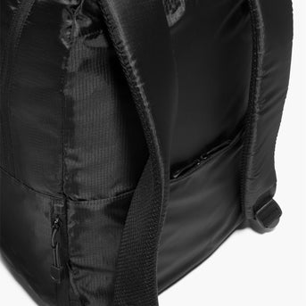 Straps - The Hanover - Ripstop Recycled Poly - Black - Backpack - Lo & Sons