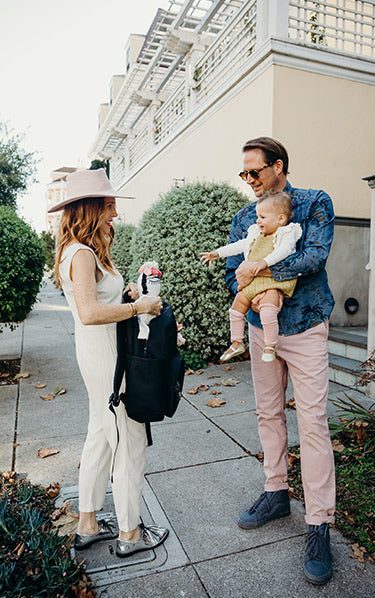 A Family Travel Backpack For Minimalists and Maximalists