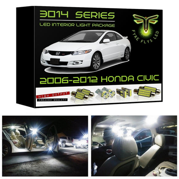 2006-2012 Honda Civic LED interior light kit 3014 Series