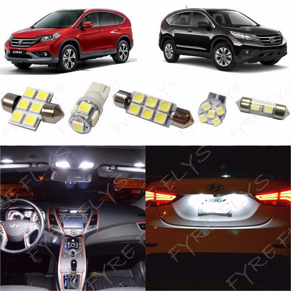 2007-2012 Honda CR-V LED interior light kit 5050 Series