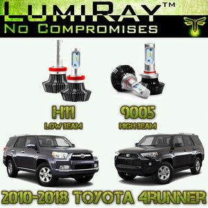 LumiRay™ LED Headlight HI/LO Package for 2010-2019 Toyota 4Runner