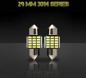 29mm DE3175 / DE3022 bulbs - 3014 Series - 15 LED