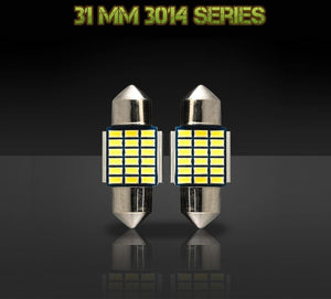 31mm DE3175 / DE3022 bulbs - 3014 Series - 18 LED