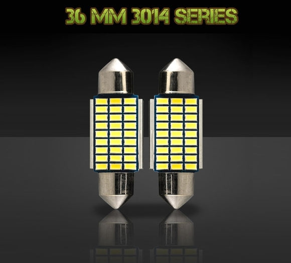36mm 6411 / DE3423 bulbs - 3014 Series - 27 LED