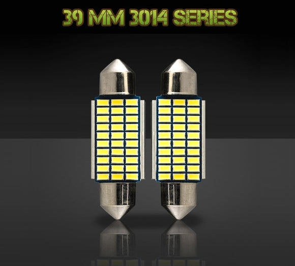 39mm 6451 / 6413 bulbs - 3014 Series - 30 LED